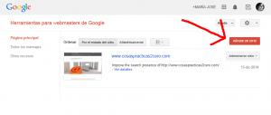 verificar tu web en google