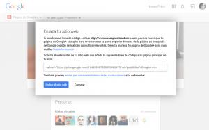 Cómo verificar tu web en Google y Pinterest