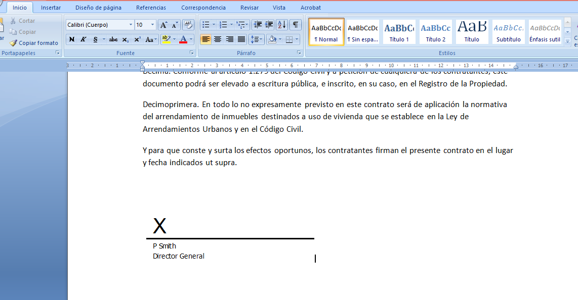 C mo firmar digitalmente un documento de office cosas for Firmar paro por internet
