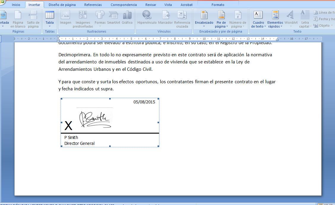 como insertar mi firma en un pdf